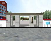 河北北方学院南校区3D漫游全景展示