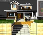 小别墅3D漫游展示
